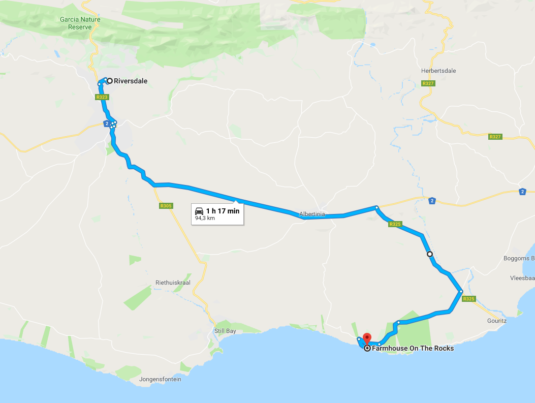 riversdale to hiltons